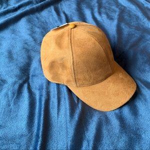 🍃 Camel Colour Suede Baseball Cap 🍃